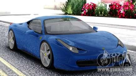 Ferrari 458 Italia Coupe for GTA San Andreas