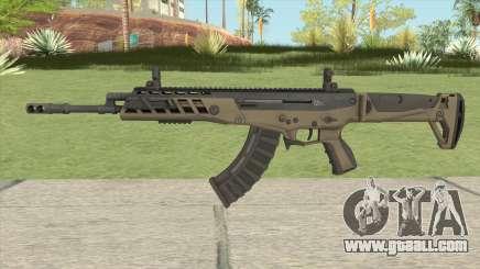 Warface AK-Alfa Desert (Without Grip) for GTA San Andreas