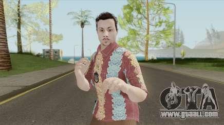 GTA Online Random Skin 29 (IAA Agent Summerwear) for GTA San Andreas