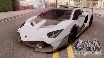 Lamborghini SC18 Alston 2019 Grey for GTA San Andreas
