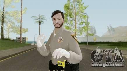 GTA Online Skin V4 (Law Enforcement) for GTA San Andreas