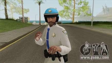 SAHP Biker V3 (GTA Online) for GTA San Andreas