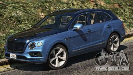 Bentley Bentayga for GTA 5