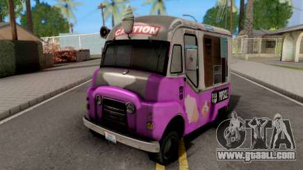 Transformers ROTF Skids And Mudflap Ice Cream for GTA San Andreas