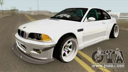 BMW M3 E46 Pandem Custom for GTA San Andreas