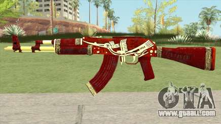Warface AK-103 (Lake Bird) for GTA San Andreas