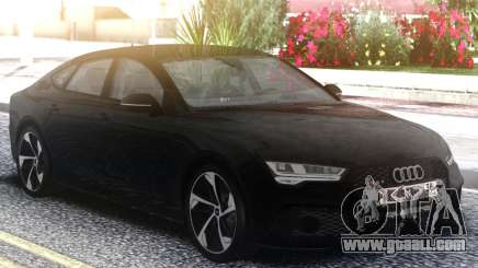 Audi RS7 Restyling Black for GTA San Andreas
