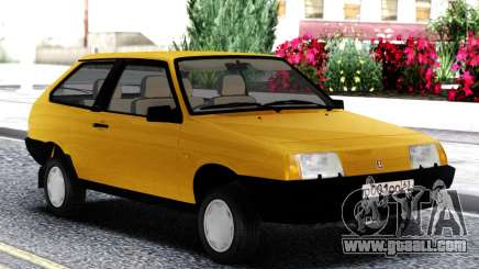 VAZ 2108 Export UK Yellow for GTA San Andreas