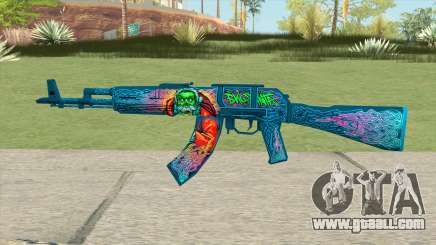 Warface AK-103 (Evil Santa) for GTA San Andreas