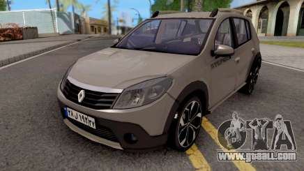 Renault Sandero StepWay v2 for GTA San Andreas