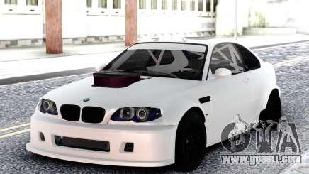 BMW M3 E92 DRIFT White for GTA San Andreas