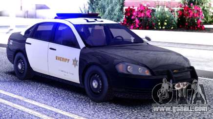 Chevrolet Impala Police Car for GTA San Andreas