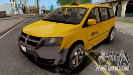 Dodge Grand Caravan Taxi for GTA San Andreas