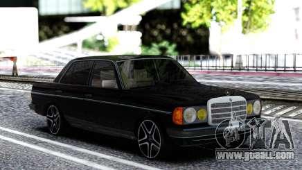 Mercedes-Benz W123 for GTA San Andreas