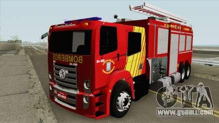 Volkswagen Constellation BOMBEIROS PR for GTA San Andreas