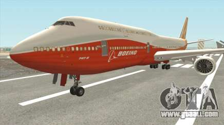 Boeing 747-8i (Boeing House Sunrise) for GTA San Andreas
