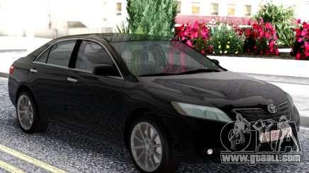 Toyota Camry XV40 2007 Black for GTA San Andreas