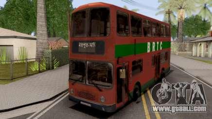 BRTC Double Decker Bus for GTA San Andreas