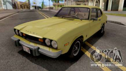 Mercury Capri 2600 1973 IVF for GTA San Andreas