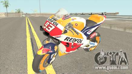 Honda RC213V 2019 Marc Marquez for GTA San Andreas