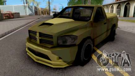 Dodge RAM SRT-10 Lowpoly for GTA San Andreas