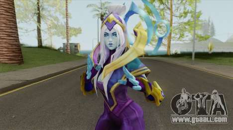 Cosmic Queen Ashe for GTA San Andreas