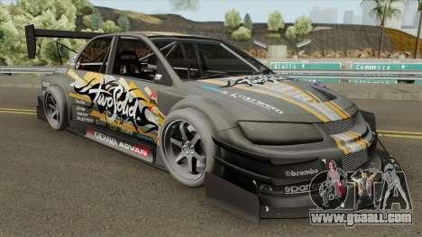 Mitsubishi Lancer Evolution VIII (Time Attack) for GTA San Andreas