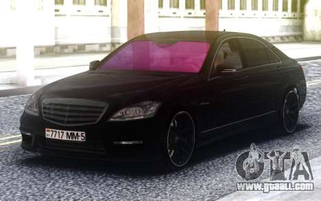 Mercedes-Benz S65 AMG 2008 for GTA San Andreas
