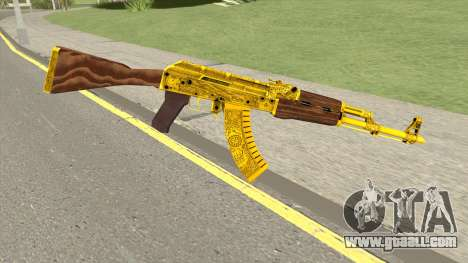 AKM Gold Cartel Skin for GTA San Andreas
