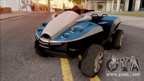 GTA V Nagasaki Blazer Aqua for GTA San Andreas