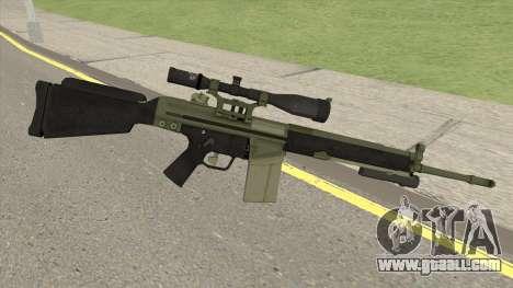 Military Sniper HQ (L4D2) for GTA San Andreas