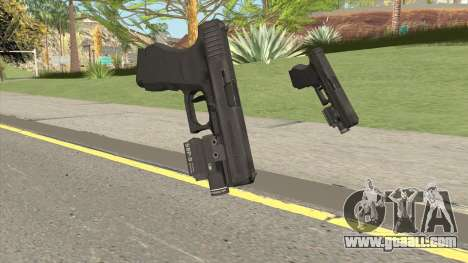 Glock 19 HQ (L4D2) for GTA San Andreas