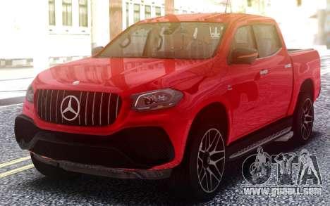 Mercedes-Benz X-class AMG for GTA San Andreas