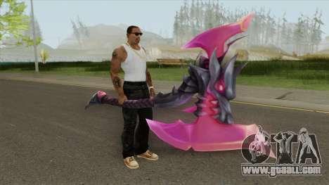 God King Darius Axe for GTA San Andreas