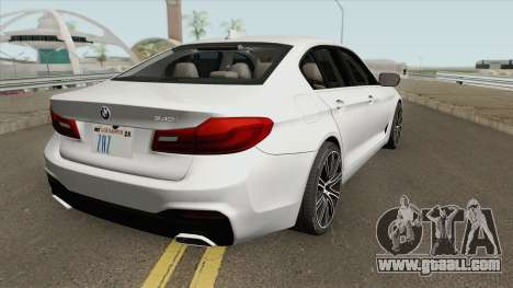 BMW 540i G30 2018 for GTA San Andreas