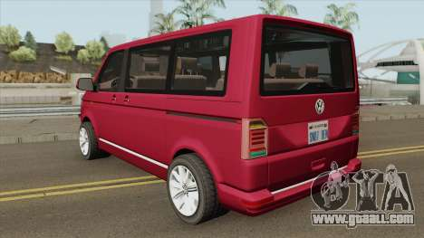 Volkswagen Caravelle 2018 for GTA San Andreas