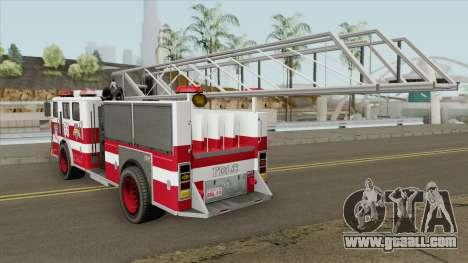Firetruck Ladder GTA IV for GTA San Andreas