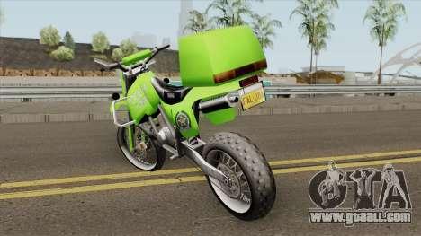 Yamaha Police (Patrullas Colombianas) for GTA San Andreas