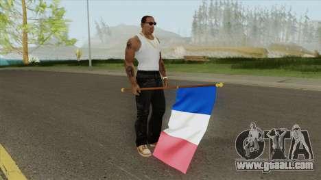 France Flag for GTA San Andreas