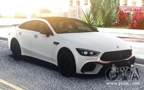 Mercedes-Benz AMG GT63 S 4door Carbon Edition for GTA San Andreas