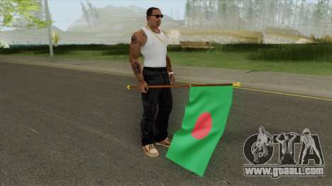 Bangladesh Flag Mod for GTA San Andreas