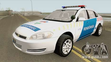 Chevrolet Impala 2013 Magyar Rendorseg for GTA San Andreas