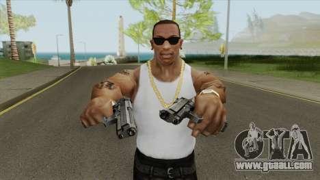Beretta 92 Pistol for GTA San Andreas