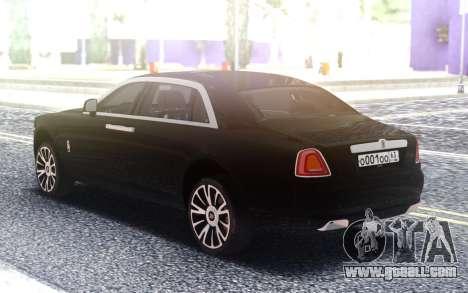 Rolls-Royce Ghost 2019 for GTA San Andreas