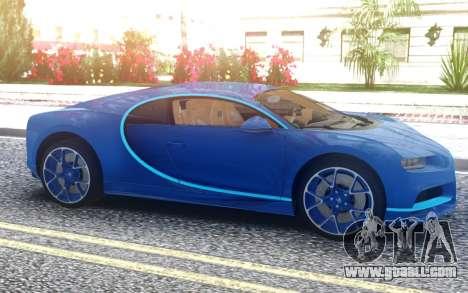 Bugatti Chiron 2020 for GTA San Andreas