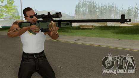 Battlefield 3 L96 Sniper for GTA San Andreas