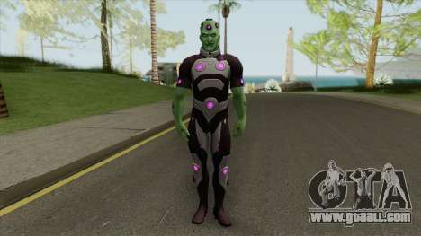 Brainiac: The Collector of Worlds V1 for GTA San Andreas
