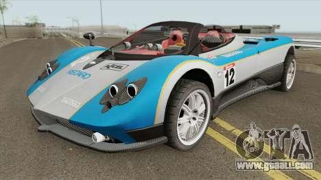 Pagani Zonda F for GTA San Andreas