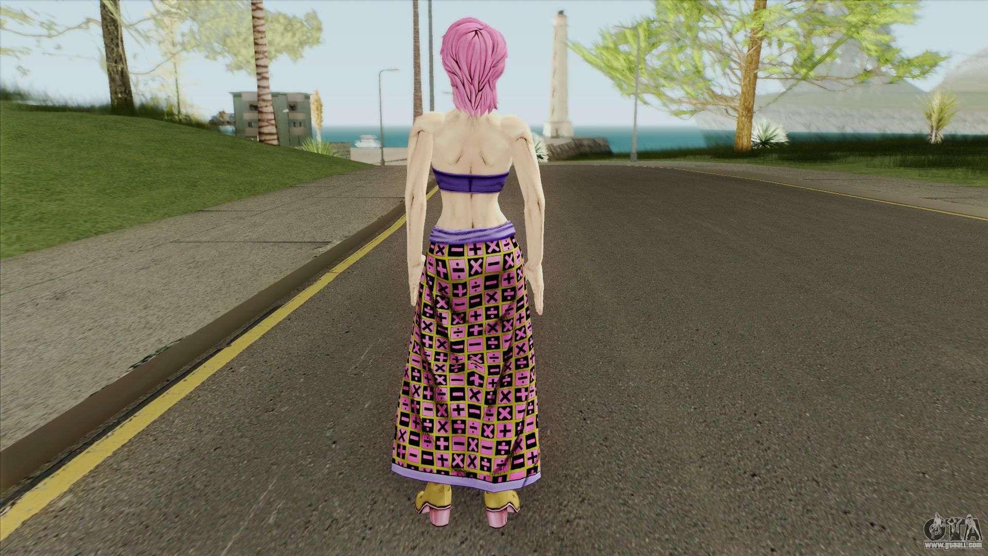 Trish (JoJo Bizarre Adventure: Golden Wind) for GTA San Andreas