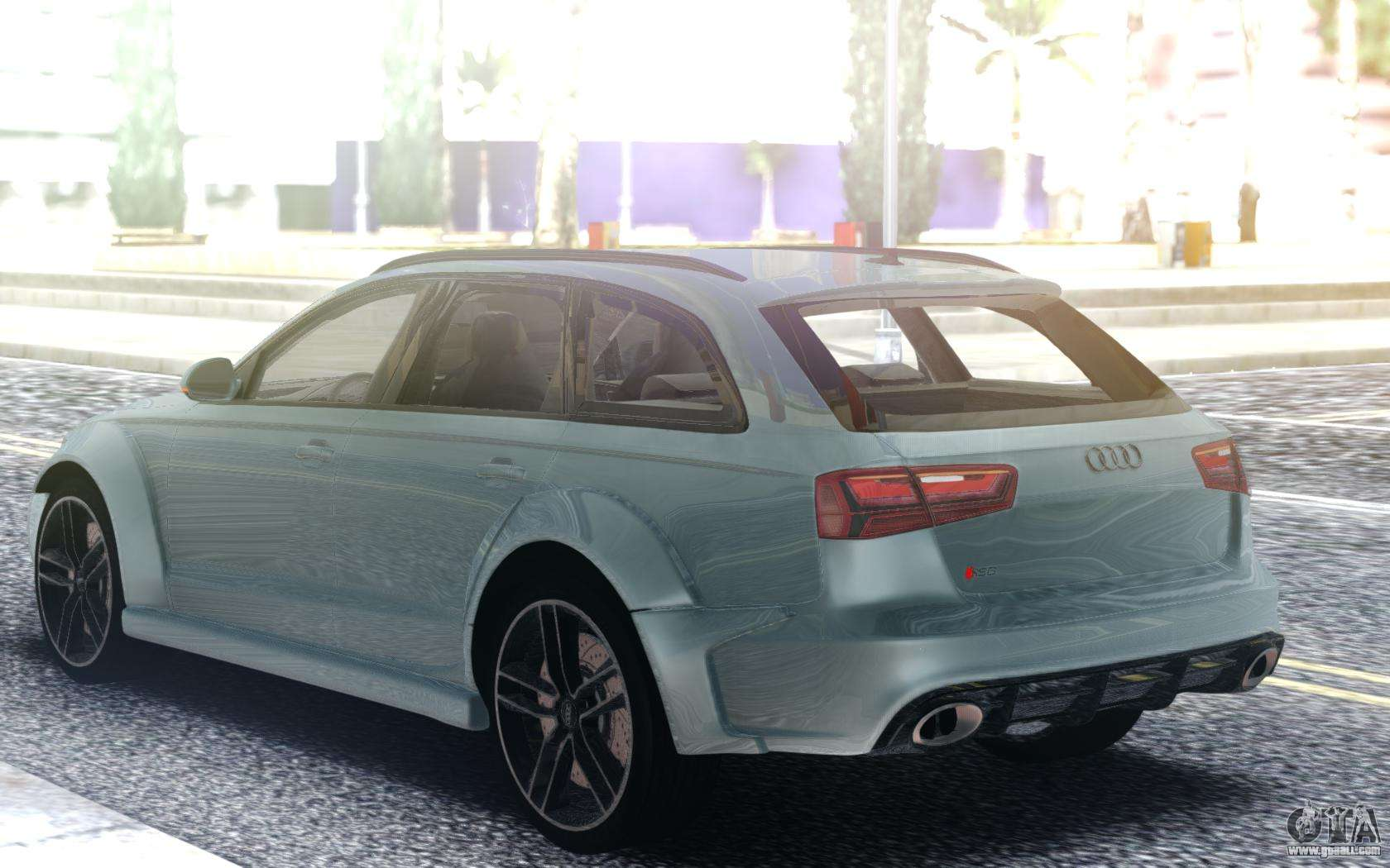 Audi RS6 Turbo for GTA San Andreas